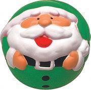 Игрушка антистресс Mister Christmas Дед Мороз ANTI-3 Green