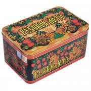 """Игра настольная """"Русское лото"""" в жестяной коробке, размер: 19x11x10,5..."""