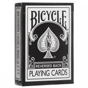 """Карты игральные Bicycle """"Reversed Back"""", цвет: черный"""