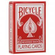 """Карты игральные Bicycle """"Reversed Back"""", цвет: красный"""