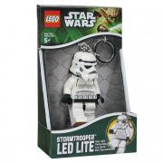"""Брелок-фонарик для ключей Lego """"Звездные войны-Штормтрупер"""""""