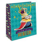 Universal Миньоны Пакет подарочный Миньон-король 35x25x9 см