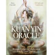 """Оракул Blue angel """"Kuan yin Oracl"""", 44 карты, инструкция на английском..."""