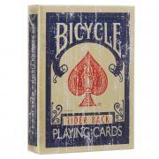"""Игральные карты Bicycle """"Faded Deck"""", цвет: темно-синий"""
