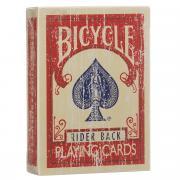 """Игральные карты Bicycle """"Faded Deck"""", цвет: красный"""