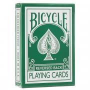 "Карты игральные Bicycle ""Reversed Back"", цвет: зеленый"
