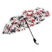 Зонт Doppler Red Black White Flowers 7441465 RB