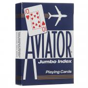 """Карты игральные """"Aviator"""", покерный размер, большой индекс, цвет:..."""