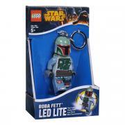 """Брелок-фонарик для ключей Lego """"Звездные Войны Боба Фетт"""""""