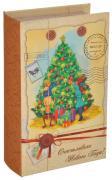 """Шкатулка декоративная """"Новогоднее письмо"""", цвет: светло-желтый,..."""