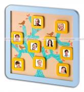 Магнитная рамка-доска для 9 фото 4x4, baby art, семейное дерево GF...