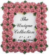 """Декоративная фоторамка Home Queen """"Букет роз"""", цвет: бледно-розовый,..."""