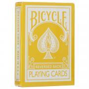 "Карты игральные Bicycle ""Reversed Back"", цвет: желтый"