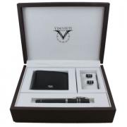 VS-008-591-99F Подарочный набор Homo Sapiens Steel Maxi (перьевая...