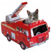 Гаджет Suck UK Fire Engine SK CARDCATPLAY1 - игровой домик для кошек