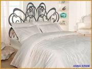 Anna krem - 1,5 спальное белье - бамбук