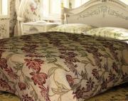 """Покрывало гобеленовое Comfort """"Lily"""", цвет: бежевый, красный, желтый,..."""