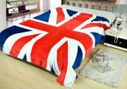 "Плед детский микрофибра ""Английский флаг"""