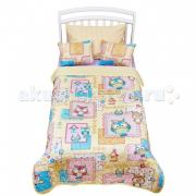 Плед Giovanni покрывало Shapito Joy Kids 170x110 с подушками