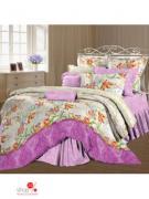 Комплект постельного белья двуспальный (50*70 см) Романтика