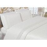 Комплект постельного белья Do and Co Евро Valeron (8850) белый