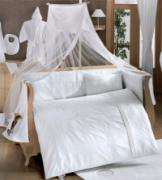 Комплект в кроватку 6 предметов Kidboo White dreams