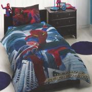 """Постельное белье """"Spiderman Movie"""" (1,5 спальный детский КПБ, ранфорс,..."""