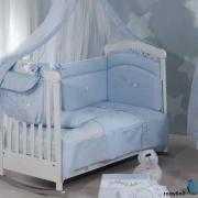 Покрывало Roman Baby Polvere Di Stelle Light Blue
