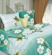 """Комплект белья P&W """"Яблоневый цвет"""", 1,5-спальный, наволочки 69x69,..."""