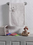 Плед флисовый Kidboo Cute Bear Beige