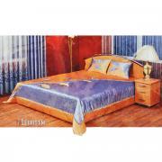 """Комплект для спальни Zlata Korunka """"Ливия"""", цвет: голубой, желтый, 3..."""
