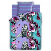 """Комплект белья Monster High """"Подружки"""", 1,5 спальное, наволочки 70 x..."""