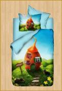 """Комплект постельного белья """"Сказка"""" Karven 3д (3d) детский Ранфорс"""