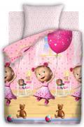 Маша и Медведь Комплект детского постельного белья День рождения...