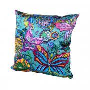 "Подушка декоративная Gift'n'Home ""Бабочки"", цвет: голубой 35 х 35cm."