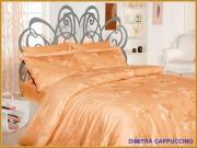 Dimitra cappuccino - 1,5 спальное белье - бамбук