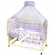 Комплект для кроватки Топотушки Мишутка (7 предметов)