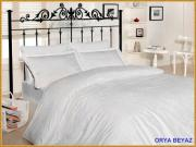 Orya beyaz - 1,5 спальное белье - бамбук
