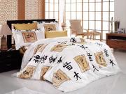Elodia gold - постельное белье - бамбук - Семейное - First Choice