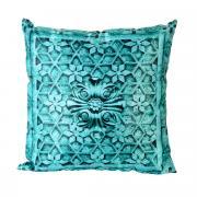 "Подушка декоративная Gift'n'Home ""Узоры Бали"", цвет: бирюзовый, 35 х..."