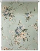 "Штора рулонная Уют ""Розарий"", цвет: голубой, бежевый, 80 х 175 см"