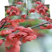 Набор постельного белья Цветы двуспальное