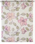 """Штора рулонная Уют """"Камелия"""", цвет: бежевый, розовый, 100 х 175 см"""