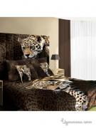 Комплект постельного белья, двуспальный Buenas noches, цвет коричневый