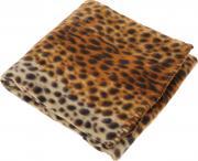 """Покрывало Гутен Морген """"Леопард"""", цвет: желтый, коричневый, 130 х 150..."""