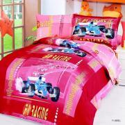 Детское постельное белье сатин LE VELE F1 RED