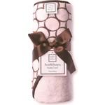 SwaddleDesigns Полотенце с капюшоном Hooded Towel Pink w/BR Mod C...