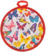 "Прихватка Bonita ""Бабочки"", диаметр 18 см"