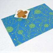 """Салфетки под столовые приборы """"Schaefer"""", цвет: синий, 35 см х 50 см,..."""