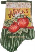 """Варежка-прихватка Home Queen """"Apples"""", 17 х 27 см"""